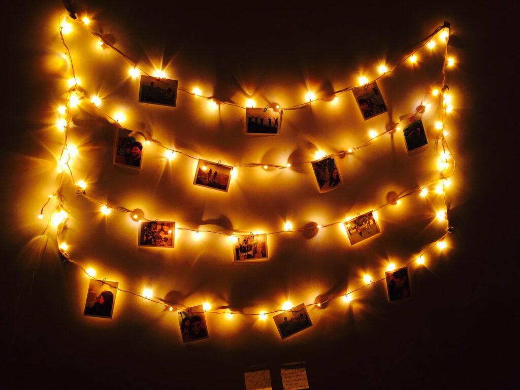 Ljusslinga runt bilder